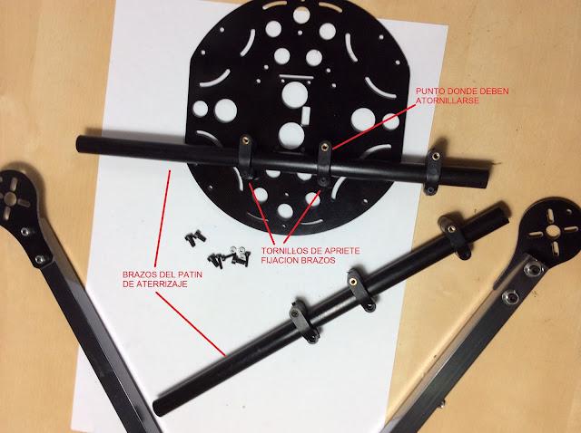 instrucciones montaje quadcopter
