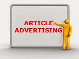 Advertise Using Articles