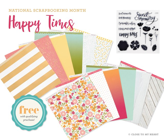 FREE CTMH Happy Days Paper Packet With each $60 purchase