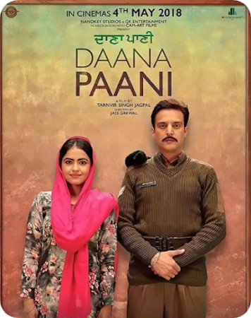 Poster Of Pollywood Movie Daana Paani 2018 300MB HDRip 480P Full Punjabi Movie