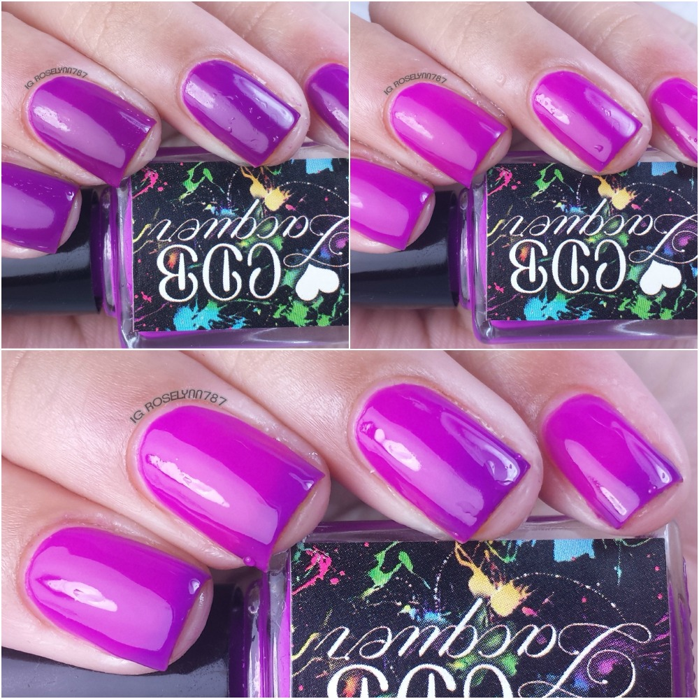 CDB Lacquer - Playful Purple