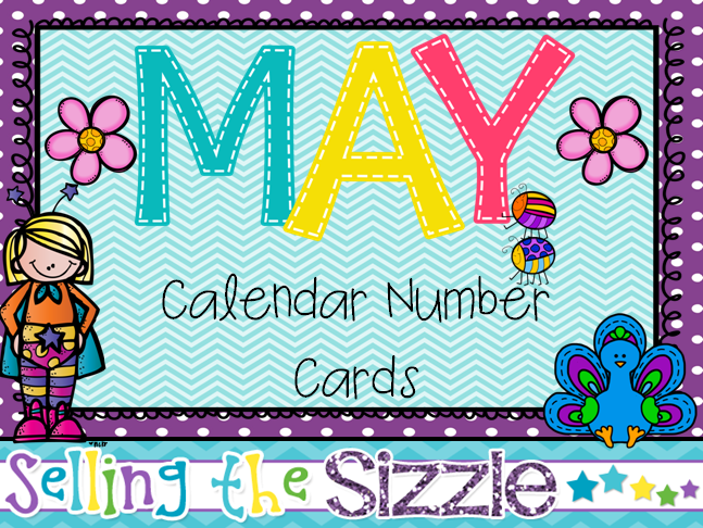 http://www.teacherspayteachers.com/Product/Calendar-Number-cards-May-1227361