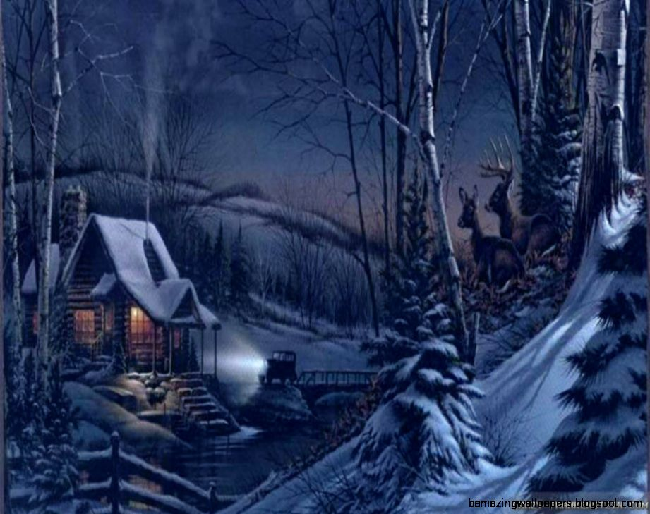 Winter Night wallpapers   Crazy Frankenstein