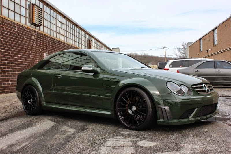 Mercedes benz w209 clk63 amg black series benztuning for Mercedes benz e series amg