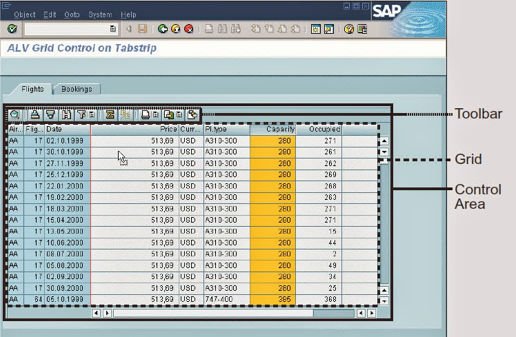 Creating ALV Grid Control Tutorial in SAP ABAP