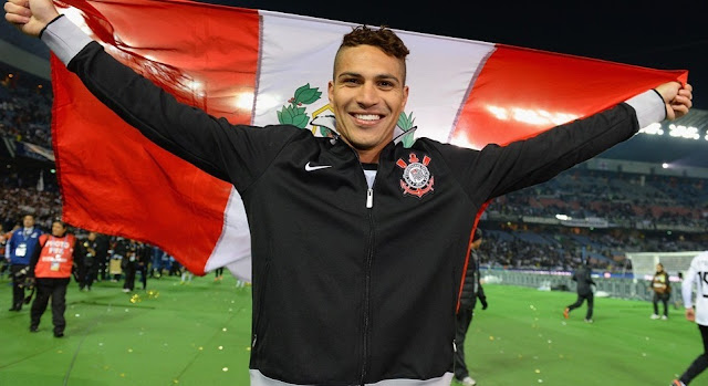Paolo Guerreiro autor do Gol da vitória contra o Chelsea