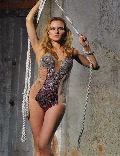 Wallpapers Photograpy Hollywood Actress Diane Kruger Hot