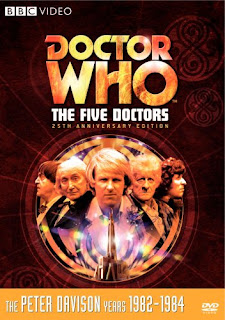Five Doctors DVD cover and Amazon link