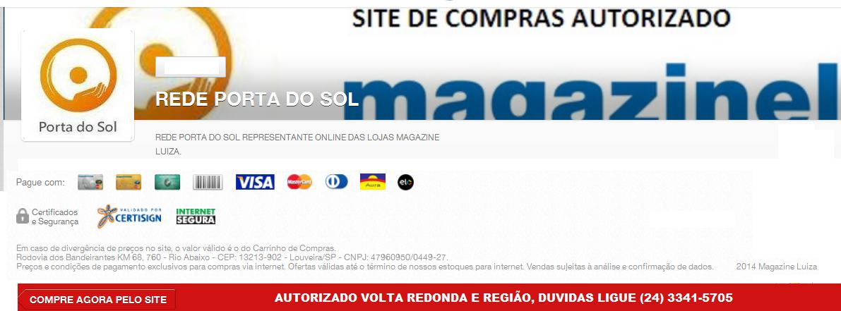 Compre online Rede Afiliada Magazine Luiza