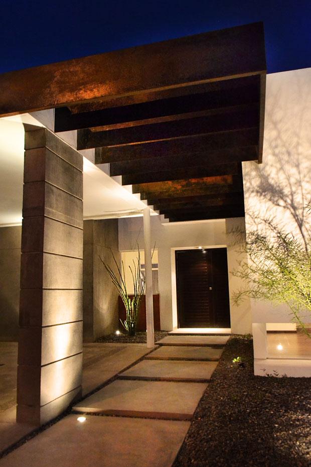 Casas minimalistas y modernas accesos minimalistas for Casa moderna 9 mirote y blancana