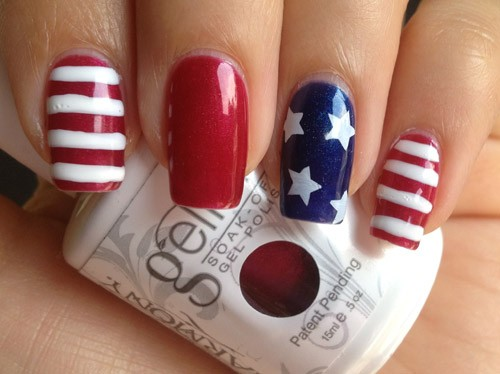 Nail art designs for july 4 nail art designs 4th of july prinsesfo Gallery