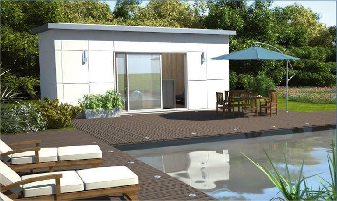 le blog d 39 aquilus pour un pool house pratique et joli. Black Bedroom Furniture Sets. Home Design Ideas