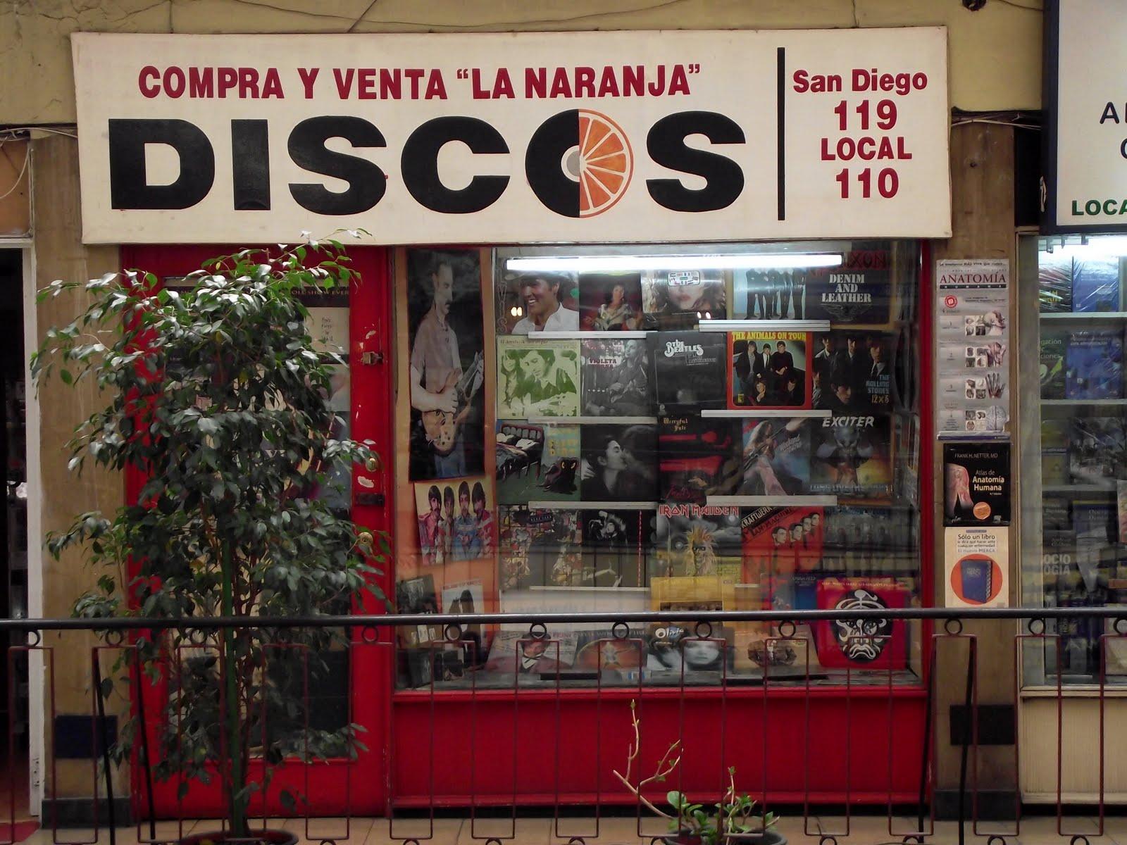 Discorola · Sonidos Perdurables: Buenos discos en Santiago (Parte 2)
