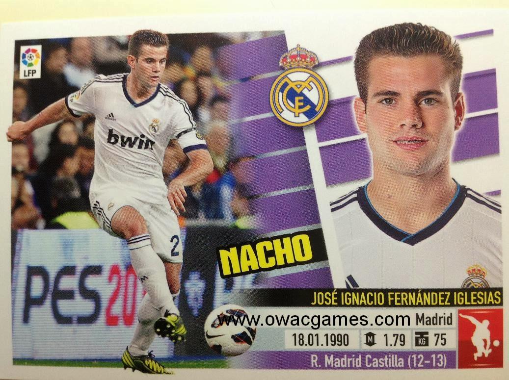 Liga ESTE 2013-14 Real Madid - 3B - Nacho
