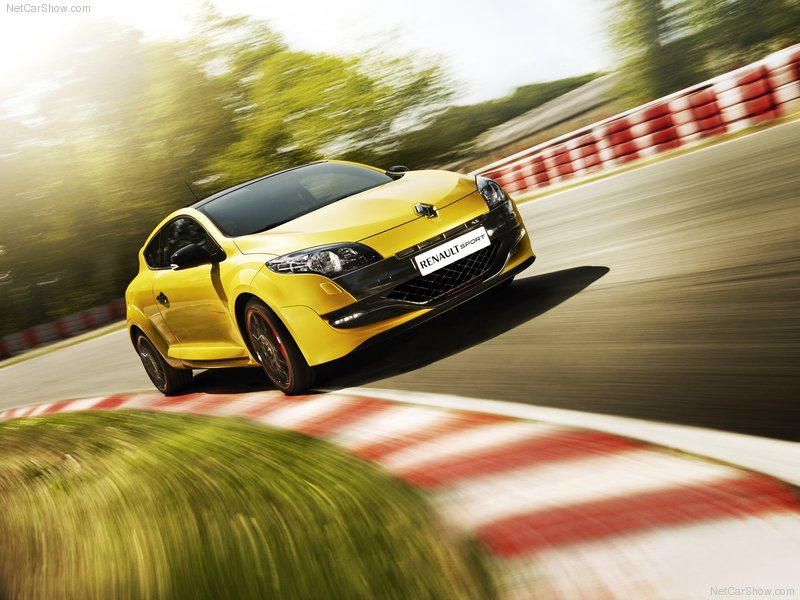 2012 New Renault Megane RS Trophy