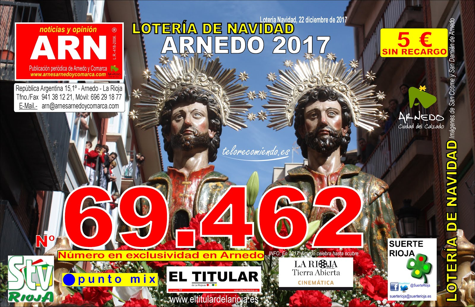 69462. Lotería de Navidad