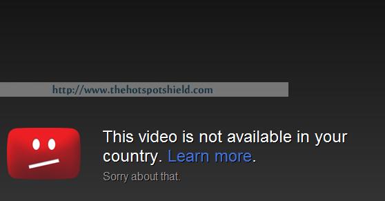 Unblock Youtube using Hotspot Shield