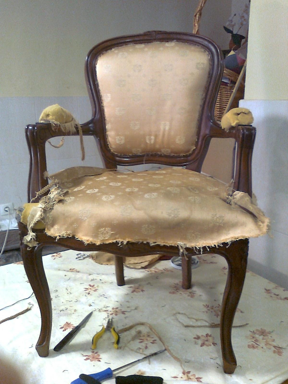 El desv n de los trastucos silla estilo luis xv - Sillas estilo luis xvi ...