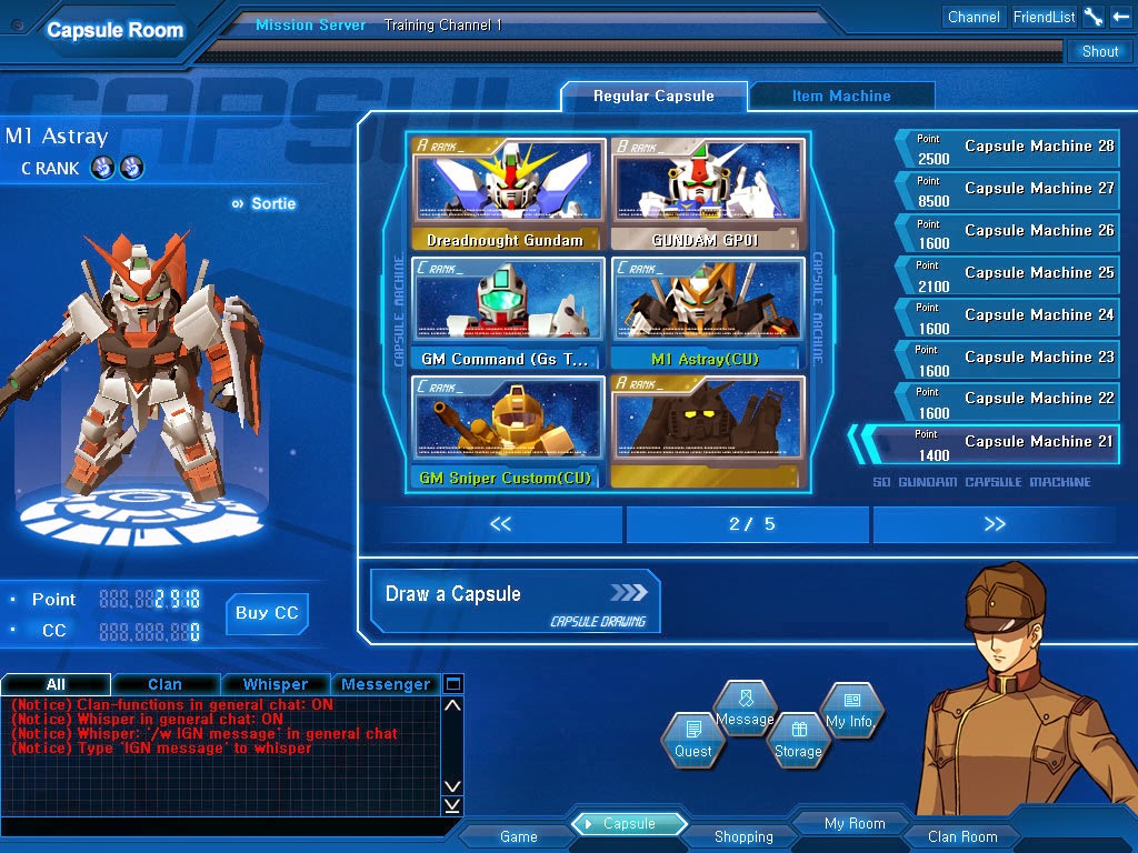 SD Gundam Capsule Fighter Online Mecha, Sci-fi, Shooter MMO