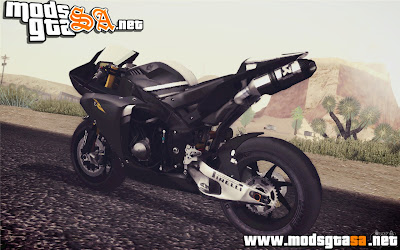 SA - Yamaha YZF R1 2012 Black