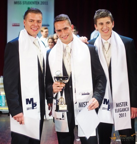 Krystian Kurowski won Mister Polski 2011 on May 22nd