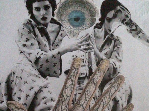 amenaza (detalle) ©Oscar Varona - Handmade Collage