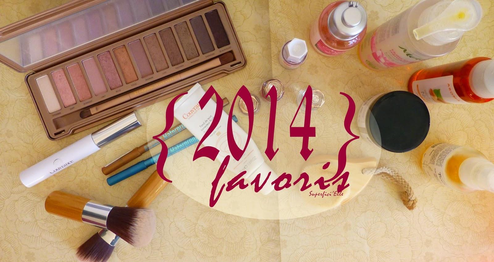 Favoris Soins et Makeup 2014 - du rose, du bio et beaucoup de douceur!!