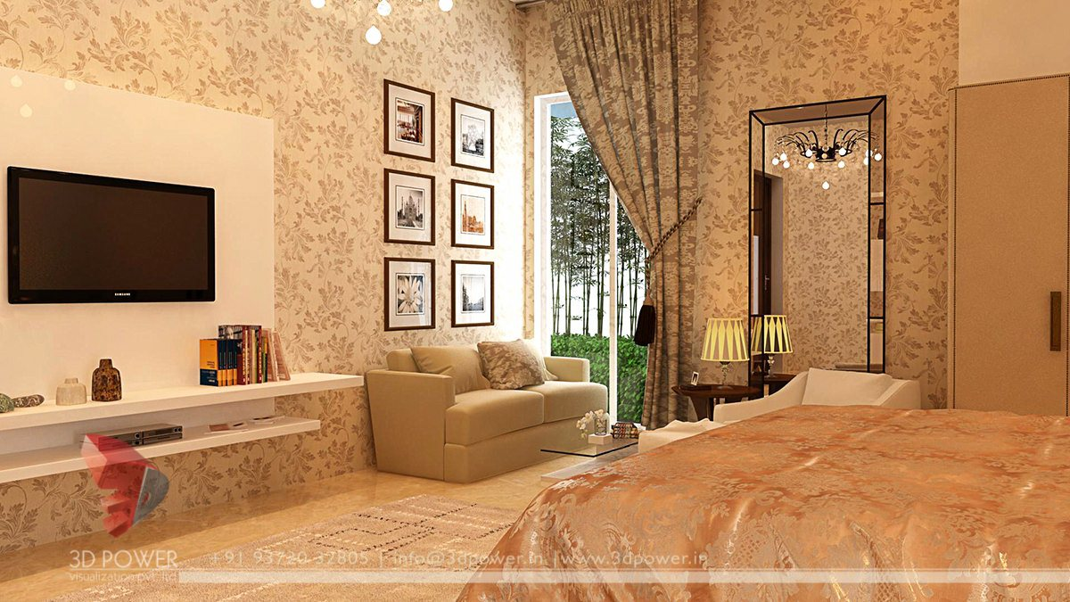 3d interior designs interior designer smart interior for Bedroom designs middle class