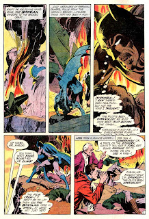 Detective Comics #404 dc Batman Enemy Ace comic book page art by Neal Adams