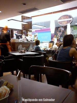 Seven Wonders Café: Loja do Shopping Iguatemi