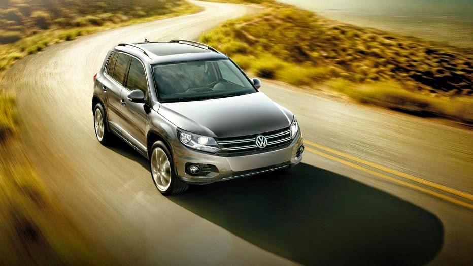 News - 2014 Volkswagen Tiguan Bluemotion TDI Euro Spec review notes