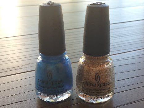 China Glaze Splish Splash & I'm not lion.