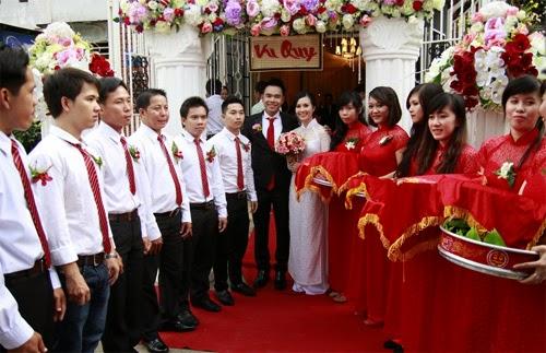 Trình tự của các nghi thức cưới truyền thống