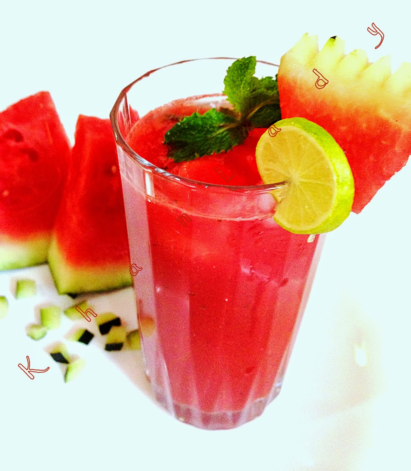 WATERMELON JUICE | Khan Lady