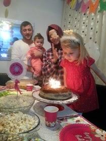 Öykü Naz'ın 3 yaş doğum günü partisi