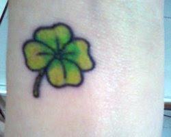 Fotos de Tatuagens de Trevo