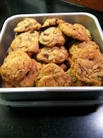 Whole Wheat Chocolate Chip and Pecan Cookies