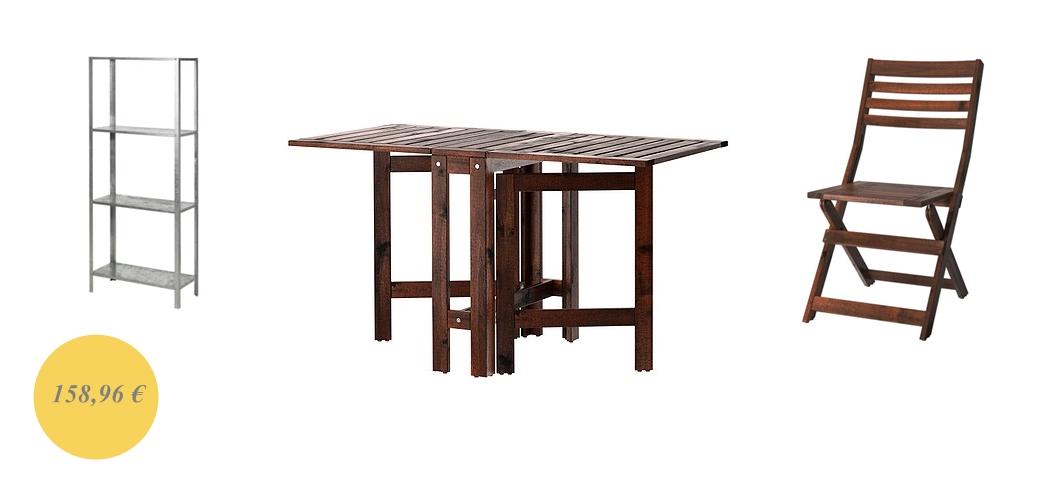 Mesas plegables terraza mesas plegables terraza mesa - Mesa y sillas terraza ikea ...