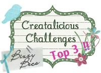 3 x Creatalicious Top 3