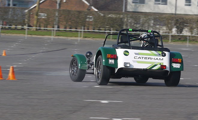 Caterham 7 Drift Champion Experience