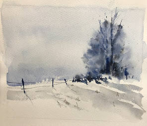 Winter  Watercolor Classes