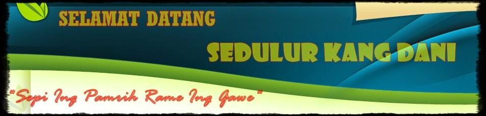 SEDULUR KANG DANI