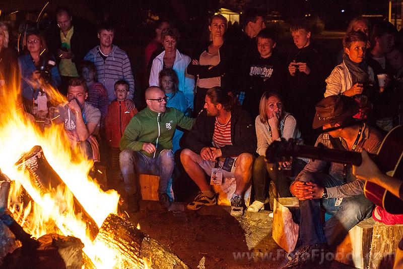 Ģitāra dziesmas pie ugunskura Art Camp 2013