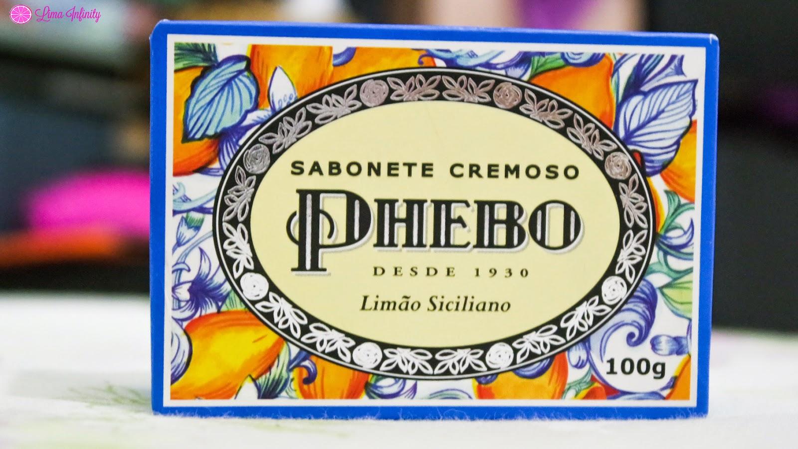 SABONETE - PHEBO - LIMÃO SICILIANO - CHEIROSO
