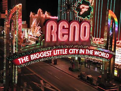 Городок Нью-Рино в Неваде