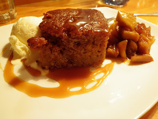 Boxwood Sticky Toffee Pudding