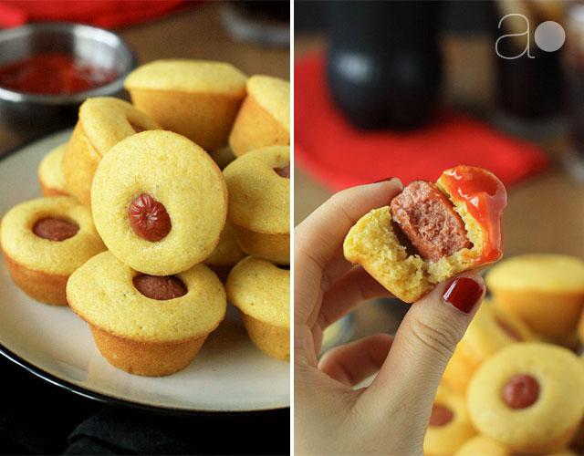 ambrosia: Mini Corn Dog Muffins
