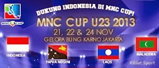 Jadwal Lengkap Dan Klasemen MNC Cup 2013