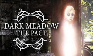 Screenshots of the Dark Meadow: The Pact for Android tablet, phone.