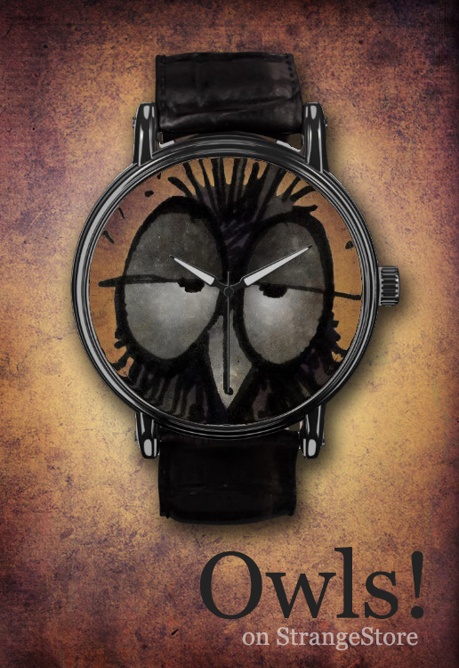 owl watch, owl gifts, owls, strangestore